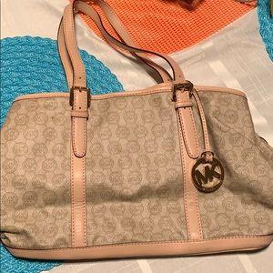 Michael Kors large logo purse